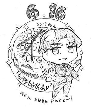 【Fate】6月16日は遠坂時臣の誕生日。2019年もゼロカフェよりお祝い描き下ろしイラストを公開